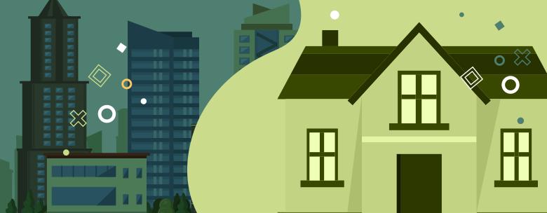 ¿Vivir en apartamentos en condominios verticales o en casas de complejos residenciales?